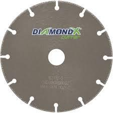 DIAMONDX Steel Cut Off Disc 125x1.3x1.5x22.2mm
