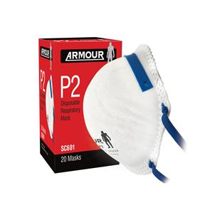 ARMOUR FACE DUST MASK DRP2 Box20