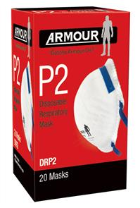 ARMOUR FACE MASK SC602 CARB VALVED Box12
