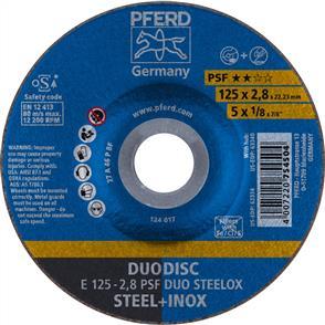 PFERD Combidisc Abrasive Disc E 125x2.8mm A46 PPSF Inox Duo