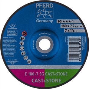 PFERD Masonry D/C Grinding Disc E 178x7.0mm C24 QSG