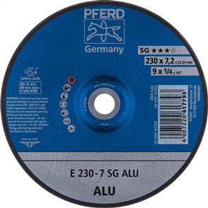 PFERD Aluminium D/C Grinding Disc E 230x7.0 A24 NSG