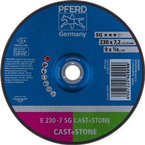 PFERD Masonry D/C Grinding Disc E 230x7.0mm C24 QSG