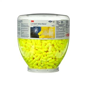 3M Ear Plugs ESOFT Yellow Neon Refill 500 PR 391-1004