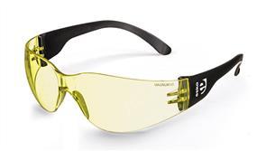MAGNUM 1703 Safety Specs Anti Fog Amber