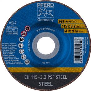 PFERD General Purpose Cut Off Disc EH 115x3.2mm A46 PPSF