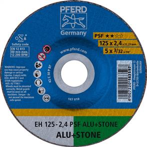 PFERD Masonry Cut Off Disc EH 125x2.4mm C30 PPSF