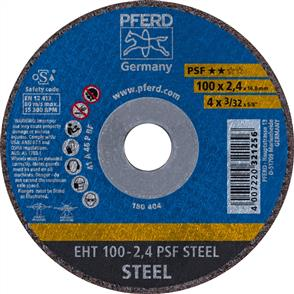 PFERD General Purpose Cut Off Disc EHT 100x2.4mm A46 PPSF