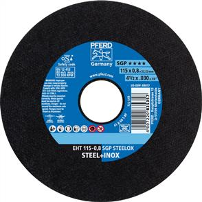 PFERD Inox Cut Off Disc EHT 115x0.8mm A60 SSGP