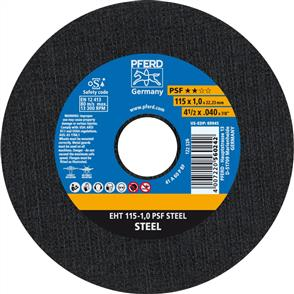 PFERD General Purpose Cut Off Disc EHT 115x1.0mm A60 PPSF