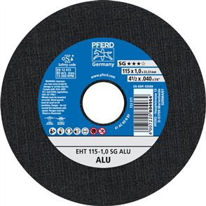 PFERD Aluminium Cut Off Disc EHT 115x1.0mm A60 NSG