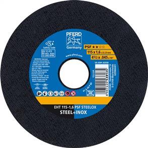 PFERD Inox Cut Off Disc EHT 115x1.6mm A46 PPSF