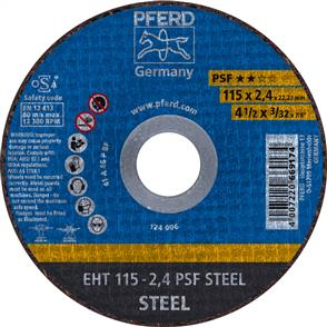 PFERD General Purpose Cut Off Disc EHT 115x2.4mm A46 PPSF