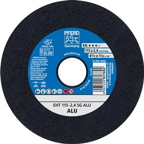 PFERD Aluminium Cut Off Disc EHT 115x2.4mm A30 NSG