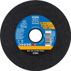 PFERD General Purpose Cut Off Disc EHT 125x1.0mm A60 PPSF
