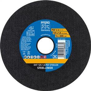 PFERD Inox Cut Off Disc EHT 125x1.0mm A60 PPSF