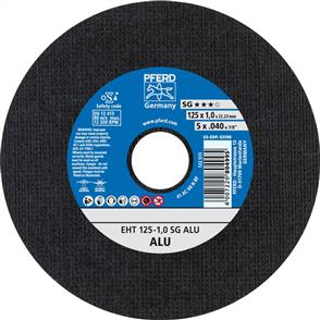 PFERD Aluminium Cut Off Disc EHT 125x1.0mm A60 NSG