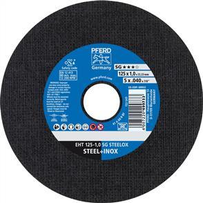 PFERD Inox Cut Off Disc EHT 125x1.0mm A60 RSG/SG