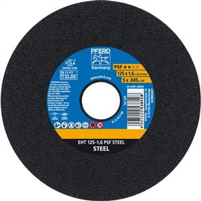 PFERD General Purpose Cut Off Disc EHT 125x1.6mm A46 PPSF