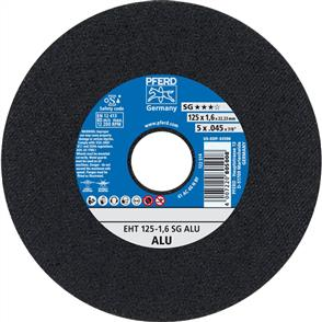 PFERD Aluminium Cut Off Disc EHT 125x1.6mm A46 NSG