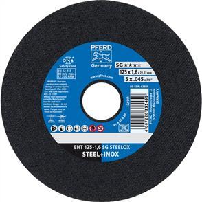 PFERD Inox Cut Off Disc EHT 125x1.6mm A46 RSG/SG