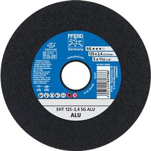 PFERD Aluminium Cut Off Disc EHT 125x2.4mm A30 NSG