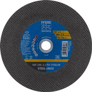 PFERD Inox Cut Off Disc EHT 230x2.5mm A24 PPSF