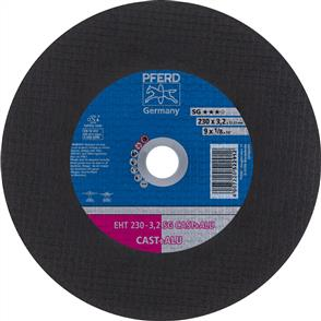 PFERD General Purpose Cut Off Disc EHT 230x3.2mm AC24 QSG Cast Iron