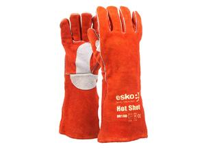 ESKO BR160 Welders Red Hot Shot Gloves 406mm