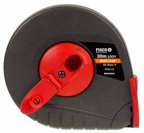 FISCO Tape Measure M/E 30m/100FT W 19