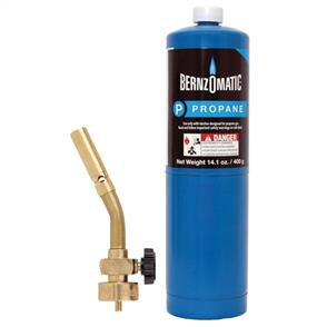 BERNZOMATIC UL100TK Gas Torch Kit Brass 2pc