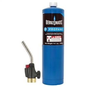 BERNZOMATIC WK2301 Gas Torch Kit Trigger Start