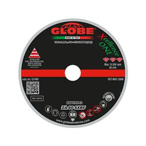 GLOBE Cut Off D/C Cutting Disc 115x1.0mm ZA 60 SXBF-X ONE
