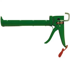 PPS CAULKING GUN GREEN H/D 265mm RAT/TYPE