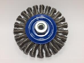 FECIN S/S Twist Knot Wheel Pipeliner 125x25mmM14
