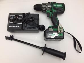 HIKOKI Impact Drill Starter Kit Brushless 36V 13mm DV36DA(GPZ)