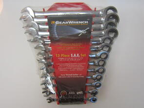GEARWRENCH 9312 Spanner Set Ratchet SAE 13Pce