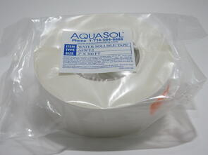"AQUASOL H2O Soluble Purge Tape 2"" x 300Ft"
