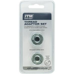 ITM Thread Adaptor 2pc Set (M10-1.25 to M14-2.0/M10x1.50 to M14-2.0)