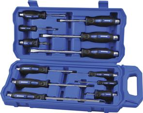 KINCROME Go-Thru Screwdriver 12 PCE Set K32069