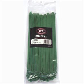 ISL Cable Tie 300x 4.8 Green HD KT30148G (100)