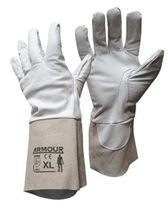 ARMOUR WELDERS TIG GLOVES SIZE 35cm LARGE (One size fits all)