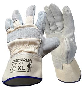 ARMOUR BUFFER GLOVES, COWHIDE - XL LGWTDP4