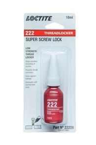 LOCTITE 222 Threadlocker 10ml