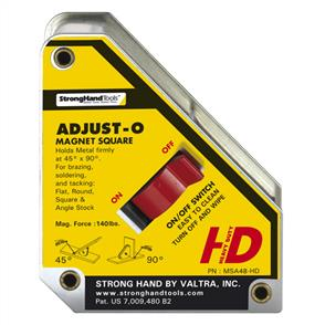 STRONGHAND ADJUST-O MAGNET SQUARE MSA46-HD