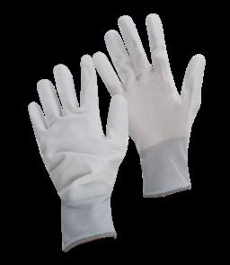 ARMOUR BRANT Gloves, PU Flex White/Grey (10) Large