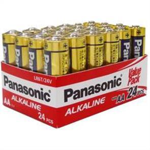 PANASONIC AA Battery Alkaline 24pk (PALR6T/24V)