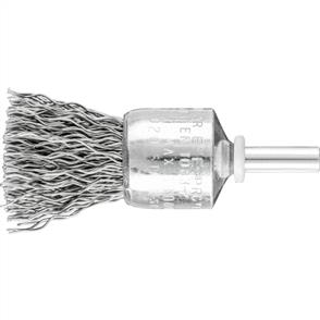 PFERD Shank Mounted End Brush, Crimped PBU 2022/6 STEEL 0,50