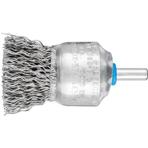 PFERD Shank Mounted End Brush, Crimped PBU 3029/6 INOX 0,50