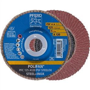 PFERD Polifan Flap Disc PFC 125mm A120 PSF